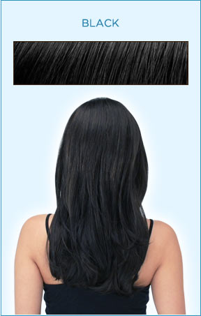 Secret Extensions Hair Color -- Black