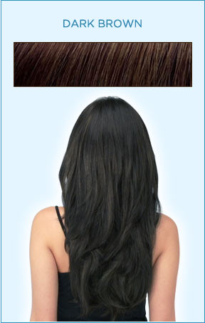 Secret Extensions Hair Color -- Dark Brown