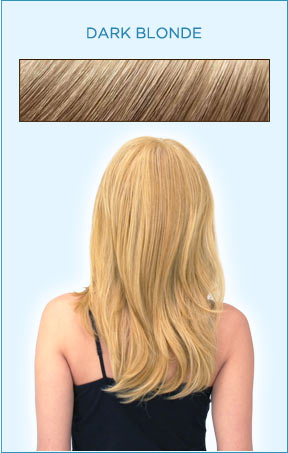 Secret Extensions Hair Color -- Dark Blonde