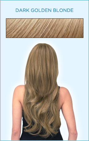 Secret Extensions Hair Color -- Dark Golden Blonde
