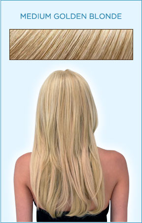 Secret Extensions Hair Color -- Medium Golden Blonde