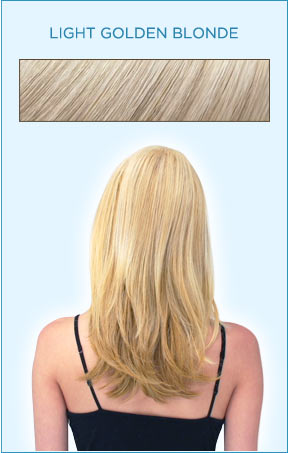 Secret Extensions Hair Color -- Light Golden Blonde